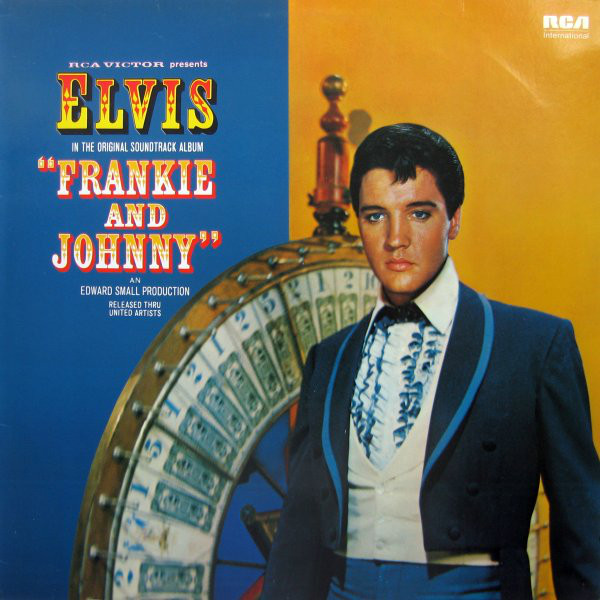 vinyl LP ELVIS PRESLEY - Frankie and Johnny