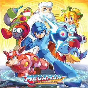vinyl 6LP Boxset OST Mega Man 1-11: The Collection (Blue and Light Blue Opaque vinyl)