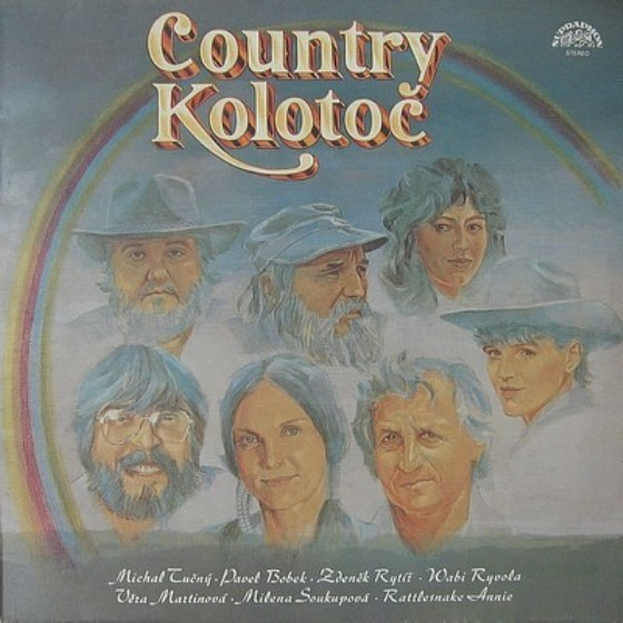vinylova LP COUNTRY KOLOTOČ