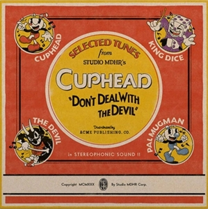 vinyl 2LP OST Kristofer Maddigan Selected Tunes From Cuphead