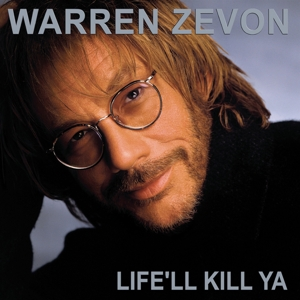 vinyl LP Warren Zevon ‎Life'll Kill Ya