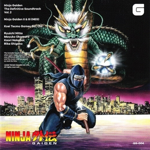 vinyl 2LP OST Ninja Gaiden The Definitive Soundtrack Vol. 2