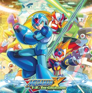 vinyl 8LP Boxset OST Mega Man X 1-8 The Collection
