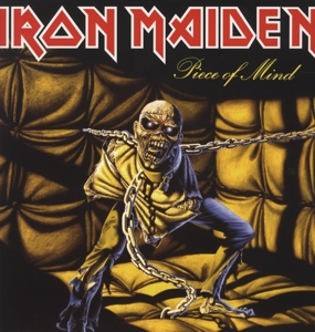 vinyl LP IRON MAIDEN PIECE OF MIND (LIMITED)