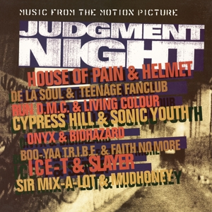 vinyl LP ORIGINAL SOUNDTRACK JUDGMENT NIGHT (orange & yellow swirled vinyl)