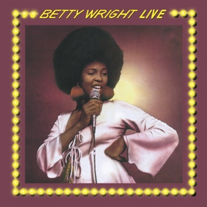 vinyl LP BETTY WRIGHT BETTY WRIGHT LIVE (translucent yellow vinyl)