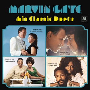 vinyl LP Marvin Gaye His Classic Duets