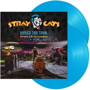 vinyl 2LP STRAY CATS Rocked This Town: From La To London