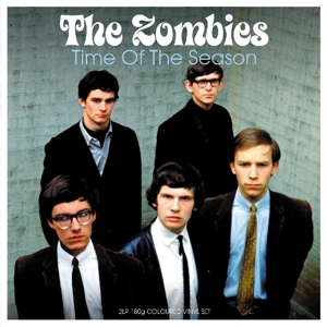vinyl 2LP The Zombies Time of the Season (Electric blue vinyl)