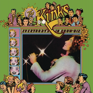 vinyl 3LP The Kinks Everybody's In Show-Biz