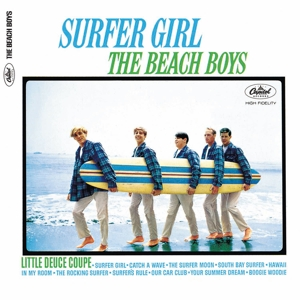 vinyl LP THE BEACH BOYS Surfer Girl