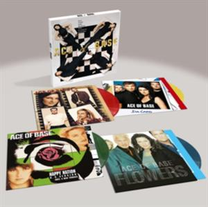 vinyl 4LP BOXSET Ace Of Base All That She Wants The Classic Albums