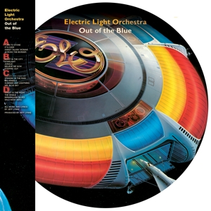 vinyl 2LP Electric Light Orchestra All Over the World the Very Best of (Picture disc)