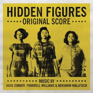vinyl LP OST Hidden Figures Pharrel Williams, Hans Zimmer & Benjamin Wallf (RSD 2019)