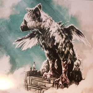 vinyl 2LP OST Takeshi Furukawa The Last Guardian