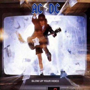 vinyl LP AC/DC  Blow Up Your Video