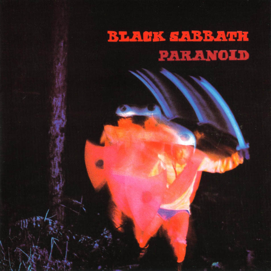 vinyl LP BLACK SABBATH PARANOID