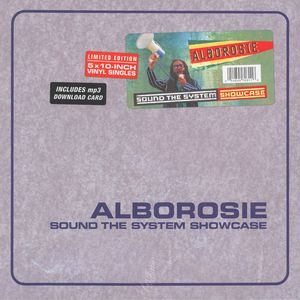 "vinyl 5x10"" BOXSET Alborosie Sound the System Showcase"