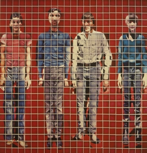 vinyl LP TALKING HEADS MORE SONGS ABOUT BUILDINGS AND FOOD (RED VINYL ALBUM)