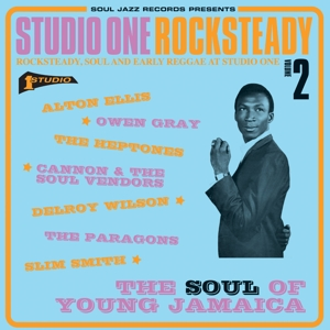 vinyl 2LP V/A Studio One Rocksteady 2