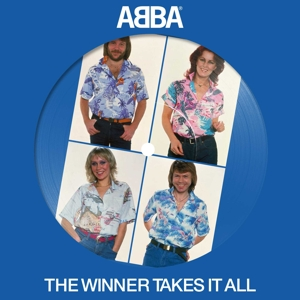 "vinyl 7"" Abba Winner Takes It All (Picture disc)"