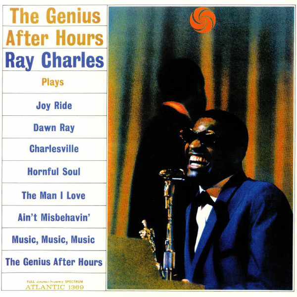 vinyl LP RAY CHARLES THE GENIUS AFTER HOURS (MONO)