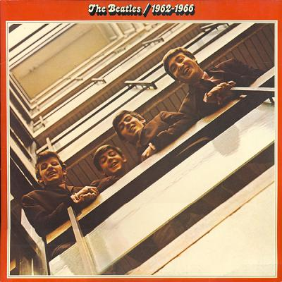 vinyl 2LP THE BEATLES 1962 - 1966