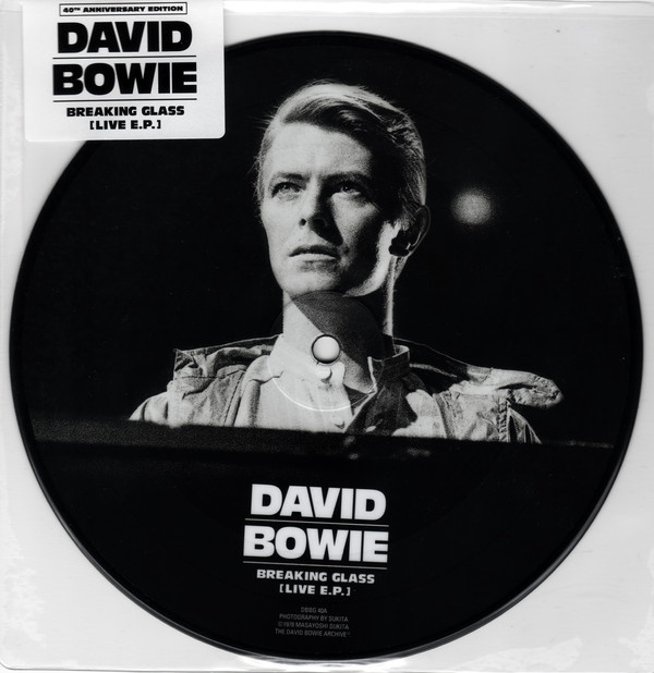 "vinyl 7"" EP DAVID BOWIE BREAKING GLASS E.P. (SINGLE VINYL)"