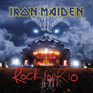 vinyl 3LP IRON MAIDEN ROCK IN RIO