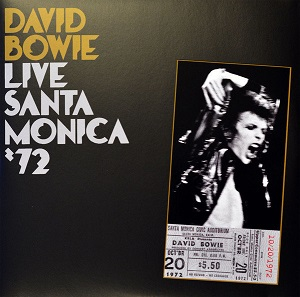 vinyl 2LP DAVID BOWIE LIVE SANTA MONICA '72