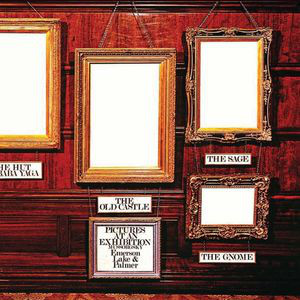 vinyl LP EMERSON, LAKE & PALMER PICTURES AT AN EXHIBITION