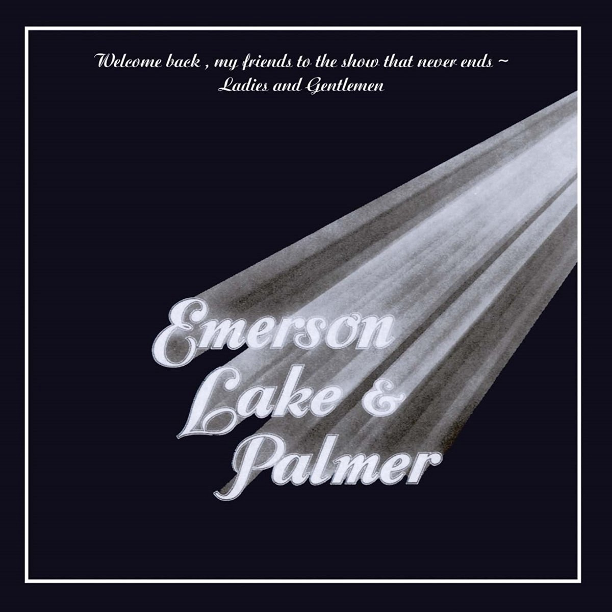 vinyl 3LP EMERSON, LAKE & PALMER WELCOME BACK MY FRIENDS TO THE SHOW THAT NEVER ENDS - LADIES AND GENTLEMEN