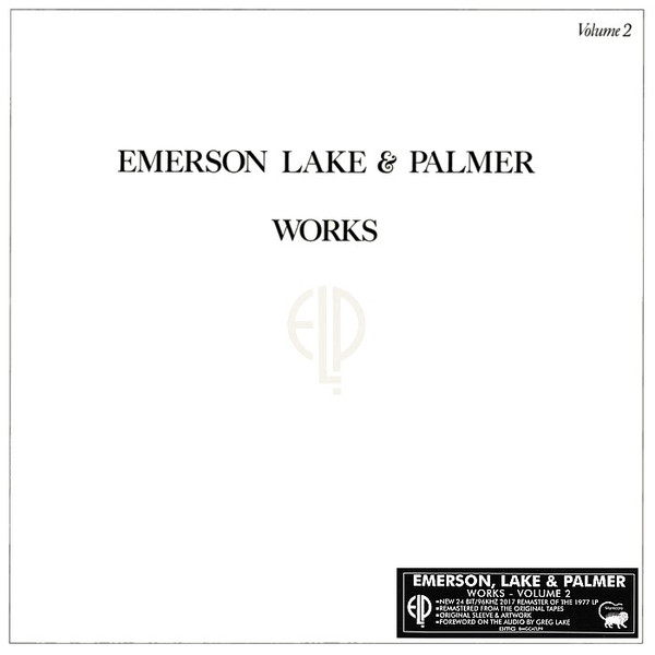 vinyl LP EMERSON, LAKE & PALMER WORKS VOLUME 2