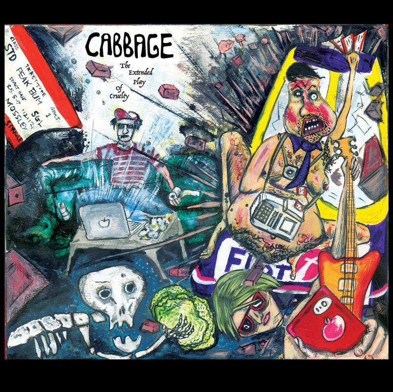 "vinyl 10"" EP CABBAGE THE EXTENDED PLAY OF CURELTY"