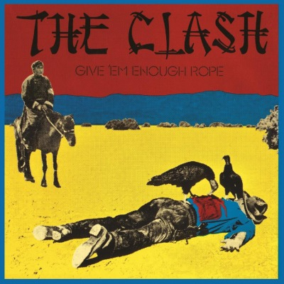 vinyl LP THE CLASH GIVE 'EM ENOUGH ROPE