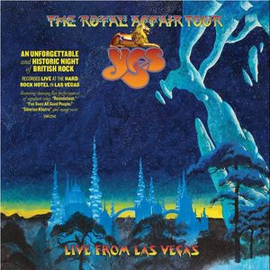vinyl 2LP YES THE ROYAL AFFAIR TOUR