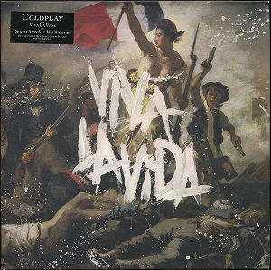 vinyl LP COLDPLAY Viva La Vida