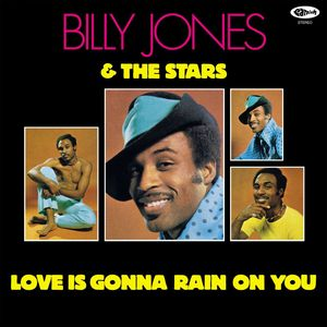 vinyl LP BILLY JONES & THE STARS LOVE IS GONNA RAIN ON YOU RSD Black Friday 2020