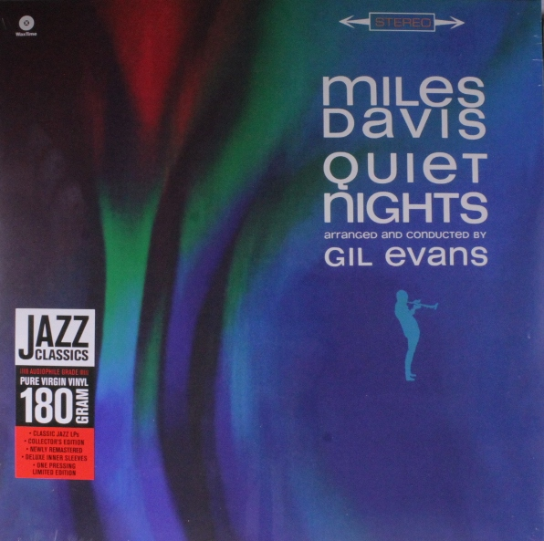 vinyl LP MILES DAVIS  Quiet Nights + 3tracks