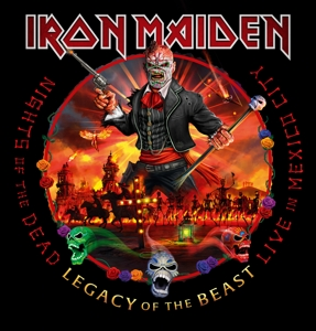 vinyl 3LP IRON MAIDEN NIGHTS OF THE DEAD - LEGACY OF THE BEAST, LIVE IN MEXICO CITY