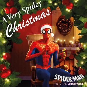 "vinyl 10"" VARIOUS ARTISTS A VERY SPIDEY CHRISTMAS"