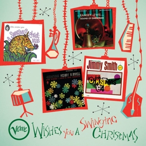 vinyl 4LP V/A Verve Wishes You a Swinging Christmas