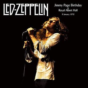 vinyl 2LP Led Zeppelin Jimmy Page Birthday At The Royal Albert Hall 9 January 1970