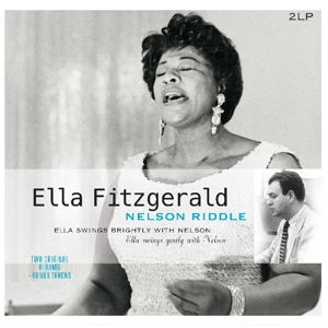 vinyl 2LP Ella Fitzgerald & Nelson Riddle Ella Swings Brightly With Nelson Ella Swings Gently With Nelson
