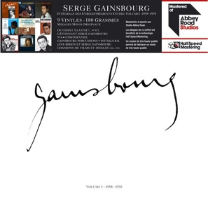 vinyl 9LP SERGE GAINSBOURG Gainsbourg (Half-speed mastered)