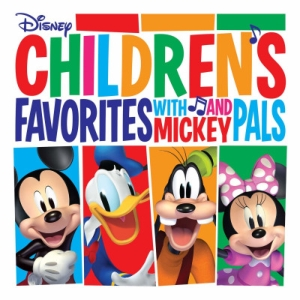 vinyl LP Various Children's Favorites With Mickey And Pals