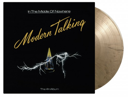 vinyl LP MODERN TALKING IN THE MIDDLE OF NOWHERE =THE 4th ALBUM=