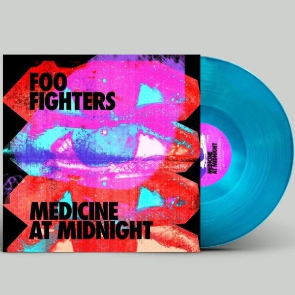 vinyl LP Foo Fighters Medicine At Midnight (Blue vinyl)