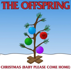 "vinyl 7"" THE OFFSPRING Christmas (Baby Please Come Home) - Red vinyl"