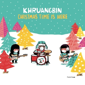 "vinyl 7"" Khruangbin Christmas Time is Here (Translucent red vinyl)"